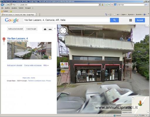 A Camucia - Cortona (AR) ampio locale commerciale