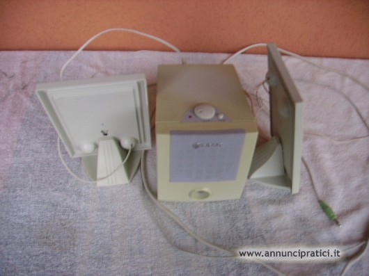 Casse acustiche ultrapiatte Amplificate