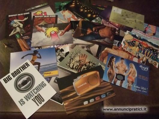 Cartoline pubblicità