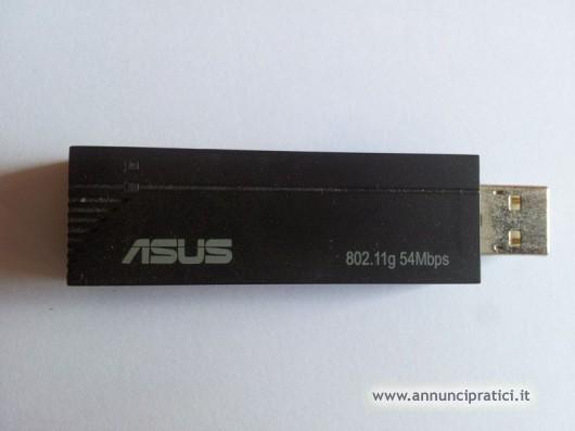 Adattatore USB 2.0 Wireless ASUS WL-167G V2
