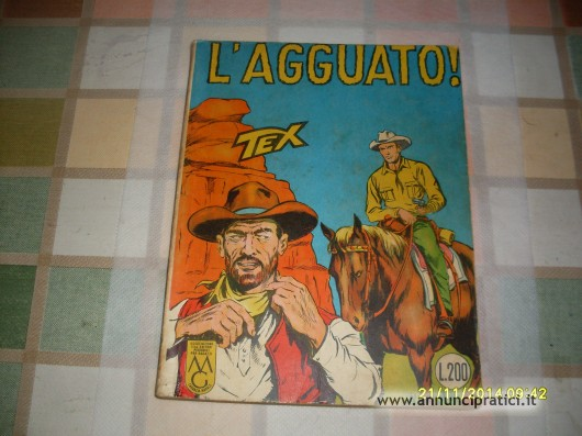 fumetto tex originale