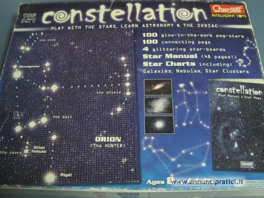 CONSTELLATION Quercetti art. 0899 Formato 46x36 c