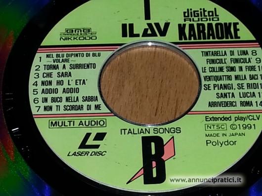 Disco vinile karaoke