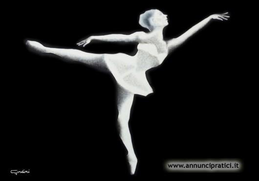 Dipinto Ballerina 4