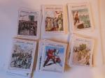 190 figurine Le copertine domenica del corriere
