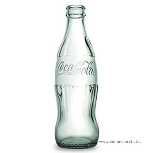BOTTIGLIA Coca-Cola, in vetro trasparente