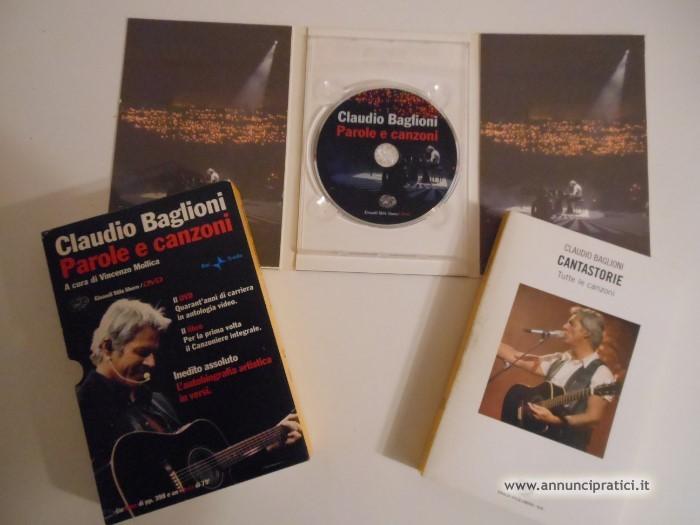 DVD + Libro di Claudio Baglioni