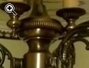 lampadario con dettagli in onice - Anteprima immagine 1