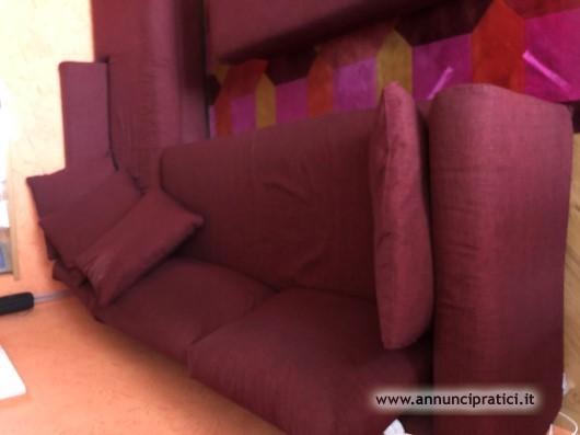 Vendo divano Poltrone&Sofà 300x200x090 con pouf