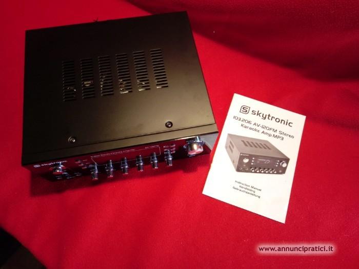 Ampl.mp3 -HiFi Karaoke + Mixer samson mdr8 analog