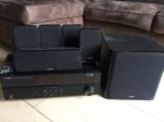 Home Theatre Yamaha htr 2067