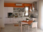 cucina angolare bianca moderna