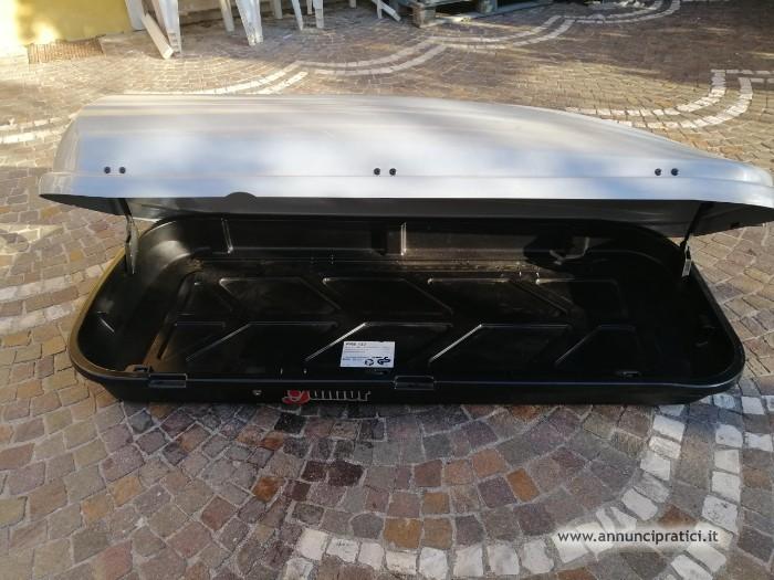 BOX DA TETTO PER AUTO JUNIOR 430 180x78x40 cm