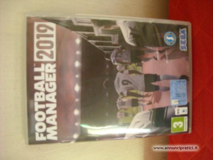 vendo Footbal Manager 2019 x PC