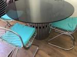 Tavolo acciaio 4 sedie