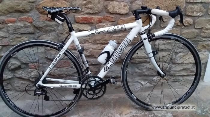 Vendo Bici da corsa usata + accessori a 90 euro