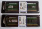Memoria RAM tipo DDR2-667, 1 GB, (2 x 512 MB),