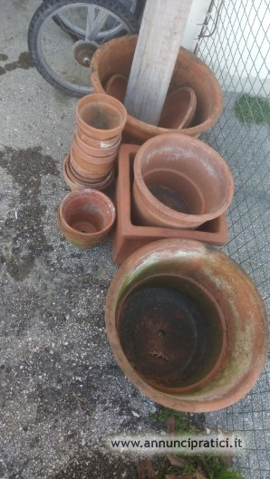 Vasi in ceramica varie misure