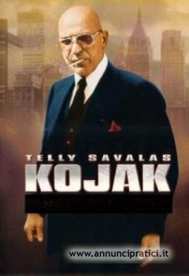 Kojak serie tv completa anni 70 Telly savalas