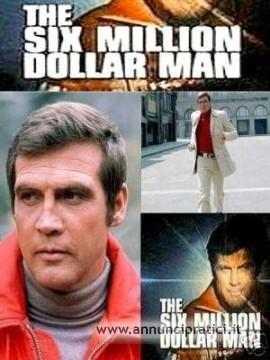 L'uomo da sei milioni di dollari serie tv completa