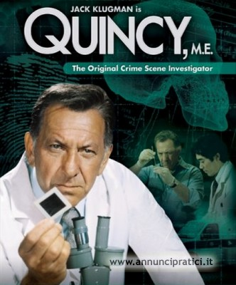 Quincy M.E serie tv completa anni 70- Jack Klugman