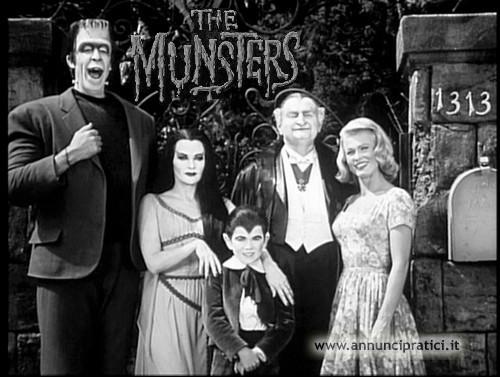I Mostri serie tv completa anni 60 B/N