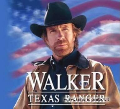 Walker Texas Ranger serie tv completa anni 90