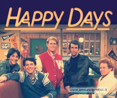 Happy days serie tv completa anni 70