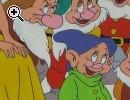 Disegno Biancaneve e i sette nani a tempera - Anteprima immagine 1