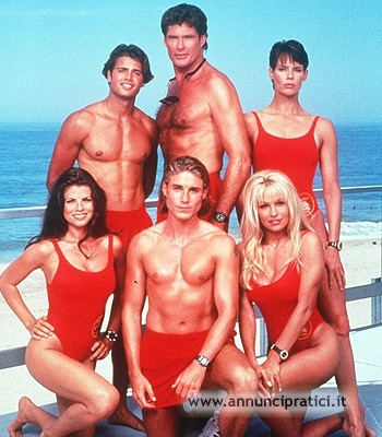 Baywatch serie tv anni 90-David Hasselhoff
