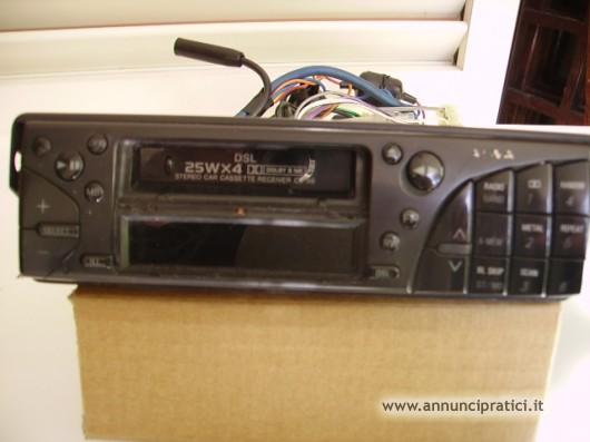 Autoradio mangianastri Aiwa  e autosonic