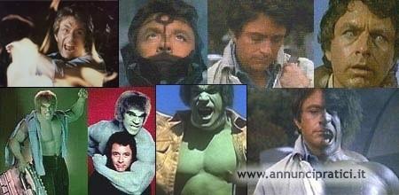 L'incredibile hulk serie tv completa anni 70